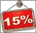 Now 15%
